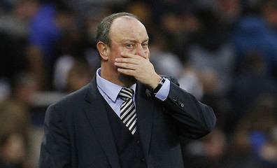 Newcastle United Manager Rafael Benitez after the match