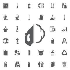 Iron icon.
