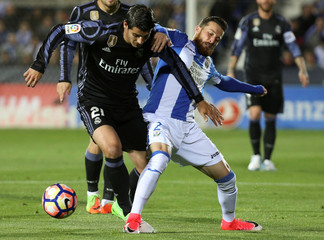 Football Soccer- Leganes v Real Madrid - Spanish La Liga Santander
