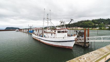Fishing or Crabbing Boat