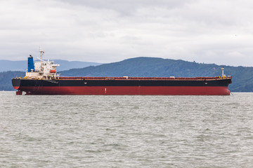 Cargio Ship in Ocean Bay
