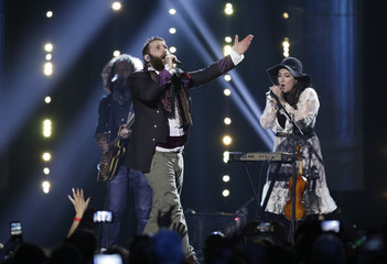 The Strumbellas perform at the 2017 Juno Awards in Ottawa