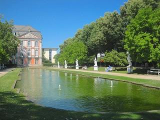 Shady Pond in Trier