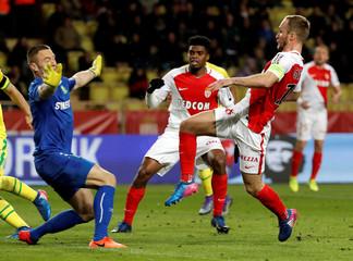 Football Soccer - Monaco v Nantes - French Ligue 1 - Louis II Stadium