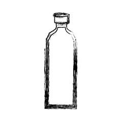 Empty plastic bottle icon vector illustration graphic design
