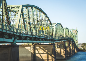 Perspective View of Bridge