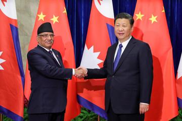 Nepalese Prime Minister Pushpa Kamal Dahal Visits China
