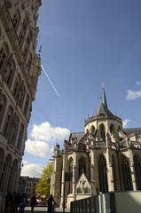 Leuven : Grand-Place, hôtel de ville et collégiale Saint-Pierre