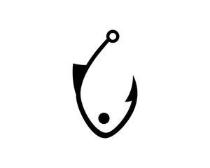 Fishing Hook Logo Vectors