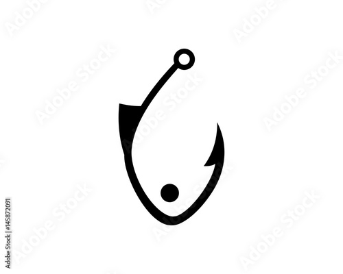 The gallery for --> Fish Hook Logo