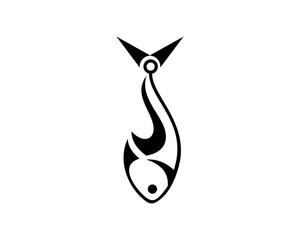 Fishing Hook Logo Vectors