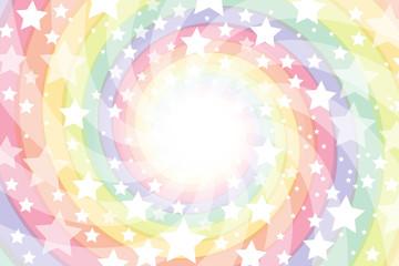 背景素材壁紙,渦巻き,集中線,光線,輝き,螺旋,虹色,レインボー,放射状,星屑,スターダスト,天の川
