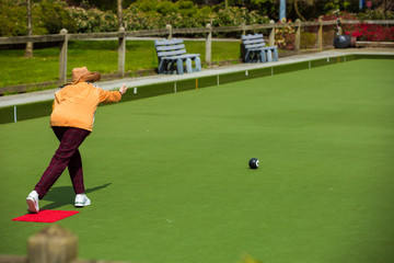Retirement and playing bowling ball