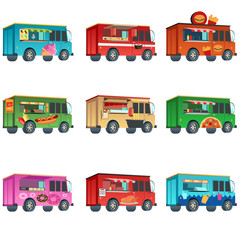 Different Food Truck Designs