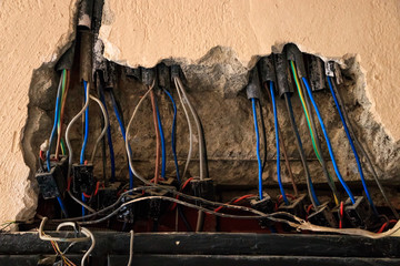 Damaged Power Cable