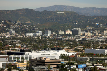 CBS Studios are pictured in West Los Angeles near Hollywood in Los Angeles, California