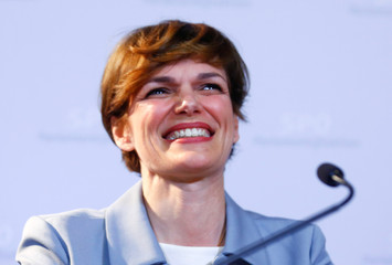 Austria's designated Health Minister Rendi-Wagner attends a news conference in Vienna
