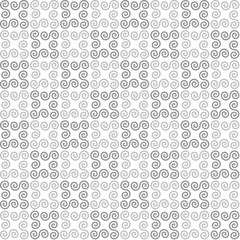 white geometric background. gray swirls. vector seamless pattern