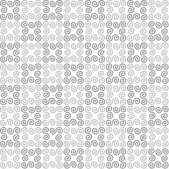 white geometric background. gray swirls. vector seamless pattern