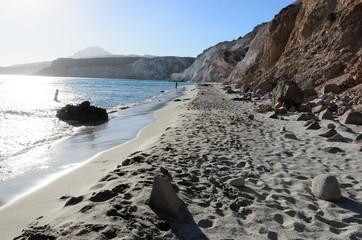 Emerald beaches of Greece - Milos island, Cyclades