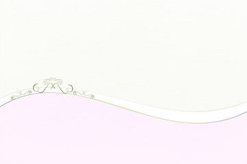 Hintergrund Stofftextur mit Welle und Ornament
