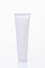 Cosmetics, Moisturizer, Bottle isolated on white.