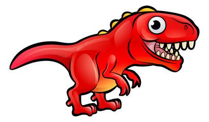 Tyrannosaurus Rex Dinosaur Cartoon Character