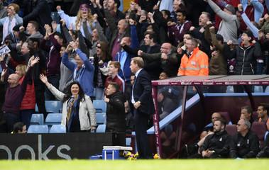 Birmingham manager Harry Redknapp after Aston Villa's Gabriel Agbonlahor scored their first goal