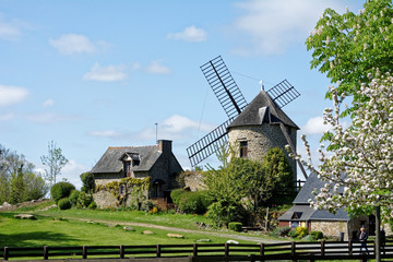 Photo sur Plexiglas Moulins moulin 2