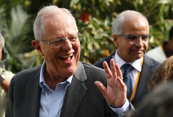 Peru's President Pedro Pablo Kuczynski attends the inauguration of Alliance Peru Cacao, an event of the U.S. Agency for International Development (USAID), in Lima