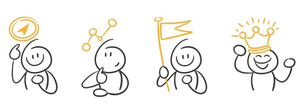 Stick Figure Series / Existenzgründung