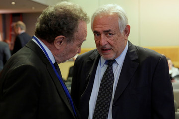 Former IMF Managing Director Dominique Strauss-Kahn attends The Bretton Woods Committee meeting