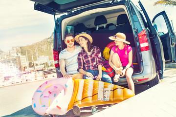 holiday family trip