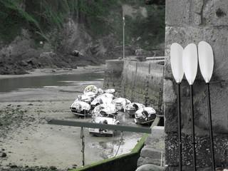 Barcas Fototapete
