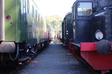 Fototapeta historischer Güterbahnhof Onabrück