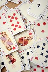 Cartes à jouer de la loterie nationale zaïroise (Années 60)