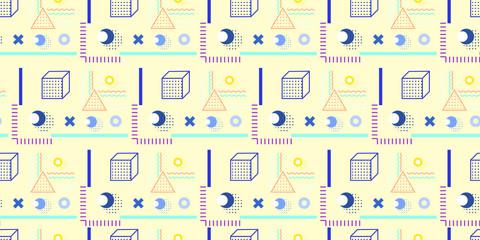 Trendy geometric pattern