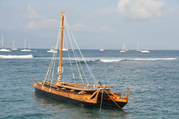 Double Hull Canoe