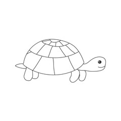 Hand drawn turtle.