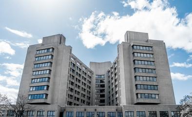 color key photo of the urban hospital, Berlin Kreuzberg
