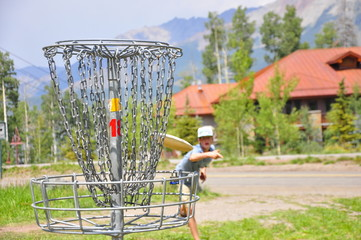 Disc Golf at 10,000 ft