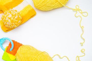 Вязание для деток. Шапка