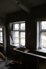 Verfall eines alten Bauernhaus