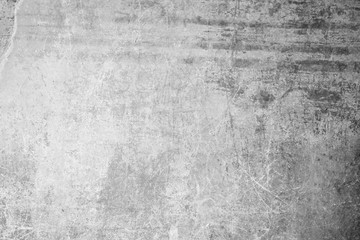 Printed roller blinds Retro Weathered, aged and scratched concrete wall texture background with some vignetting.