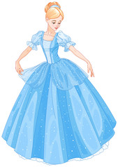 Printed kitchen splashbacks Fairytale World Cinderella