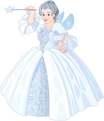 Poster Magie Fairy Godmother