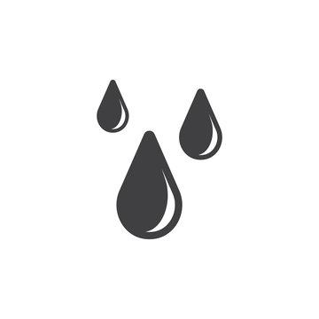 drop icon vector illustration