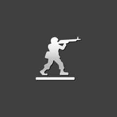 Metallic Icon - Toy soldier