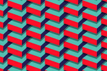 Pink and Cyan vector pattern can be used in any creatives.