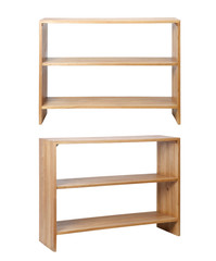 Wooden Rack front and side